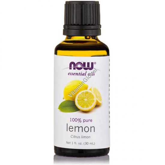 Lemon Essential Oil 30ml (1 fl oz) - Now Essential Oils