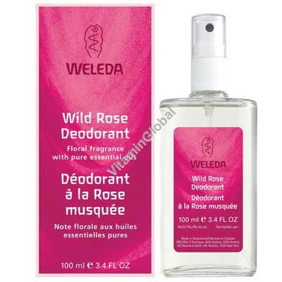 Wild Rose Deodorant 100ml - Weleda