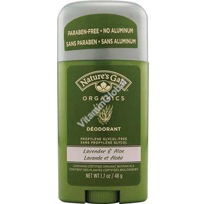 Натуральный дезодорант лаванда и алоэ 48 гр - Nature\'s Gate