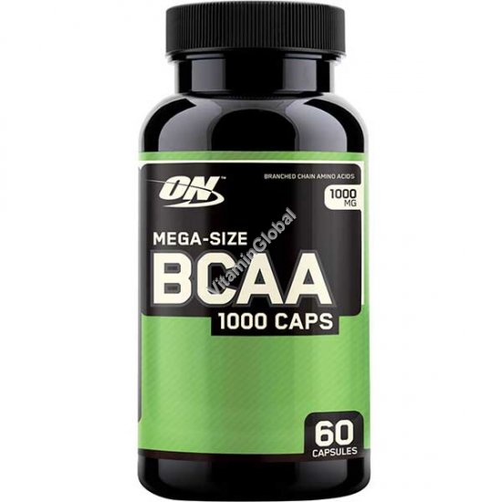 BCAA 1000 60 капсул - Optimum Nutrition