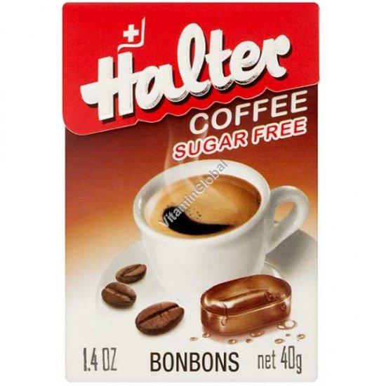 Леденцы с кофейным вкусом без сахара 40 гр - Halter