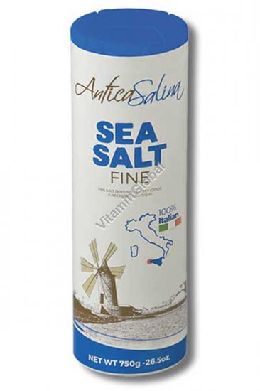 Fine Sea Salt 750g (26.5 OZ) - Antica Salina