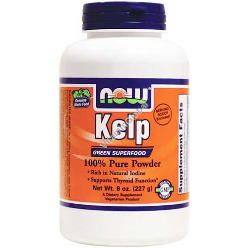 Kelp 100% Pure Powder 227g - Now Foods