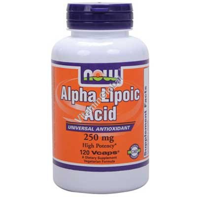 Alpha Lipoic Acid 250 mg 120 capsules - NOW Foods