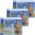 Распродажа! Кусковое мыло на основе минералов Мертвого моря 3 Х 125 гр - Mon Platin DSM