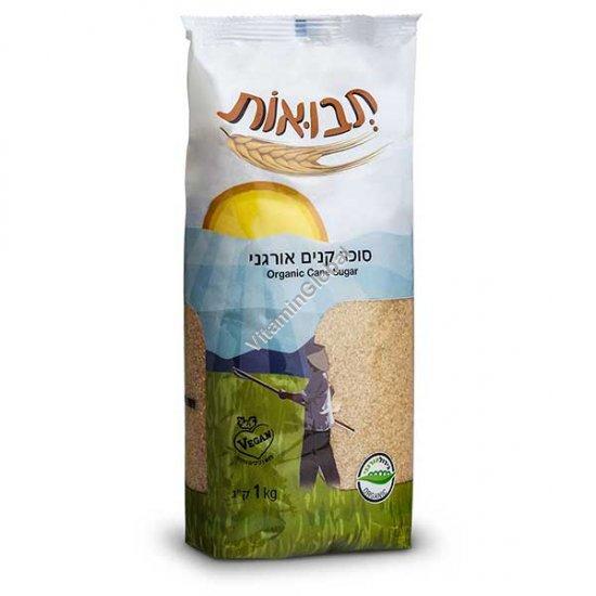 Органический тростниковый коричневый сахар 1кг - Tvuot
