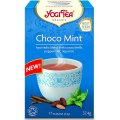 Choco Mint - Organic Ayurvedic Blend with Cocoa Shells, Peppermint, Liquorice 17 teabags - Yogi Tea