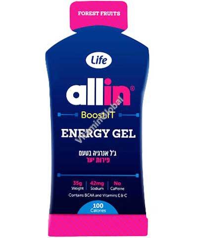 Energy Gel Wild Berry 35g - Allin