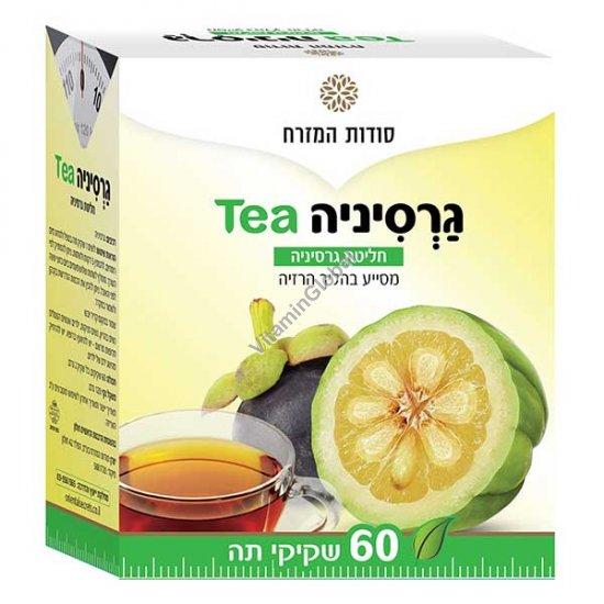 חליטת גרסיניה מסייע בהליך הרזיה 60 שקיקי תה - סודות המזרח