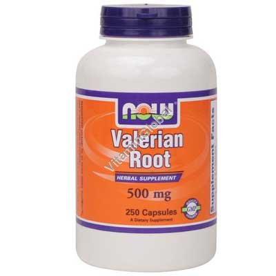Valerian Root 500 mg 250 caps - NOW Foods