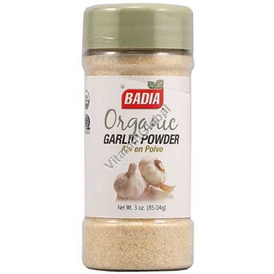 Organic Garlic Powder 3 oz (85.04g) - Badia