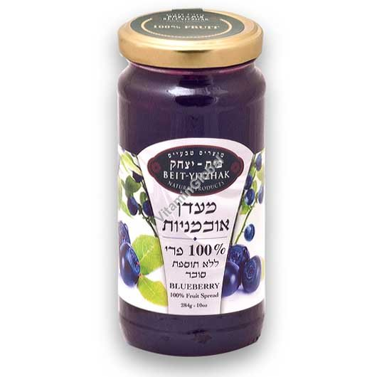 No Sugar Added Blueberry Jam 284g - Beit Yitzhak