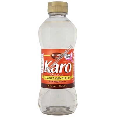 Light Corn Syrup with Real Vanilla 473 ml - Karo