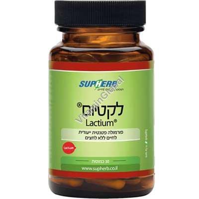 Лактиум - формула для снятия стресса 30 капсул - SupHerb