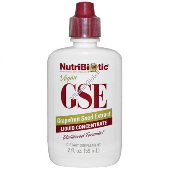 GSE Grapefruit Seed Extract 59 ml (2 FL. OZ.) - NutriBiotic