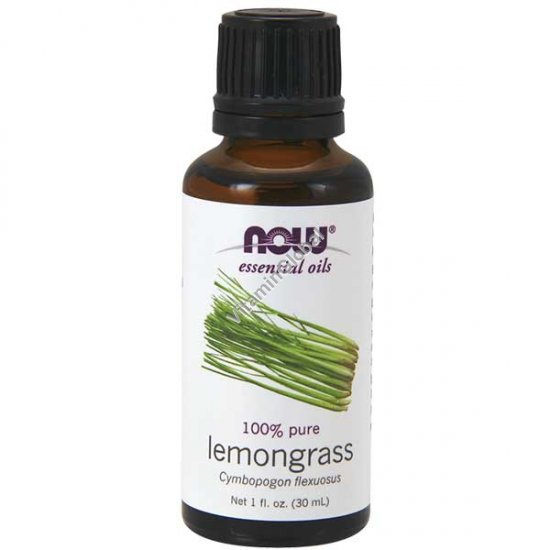 Lemongrass Essential Oil 30ml (1 fl oz) - Now Essential Oils