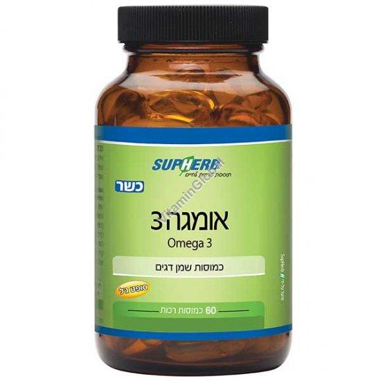Натуральная Омега-3 60 капсул - SupHerb