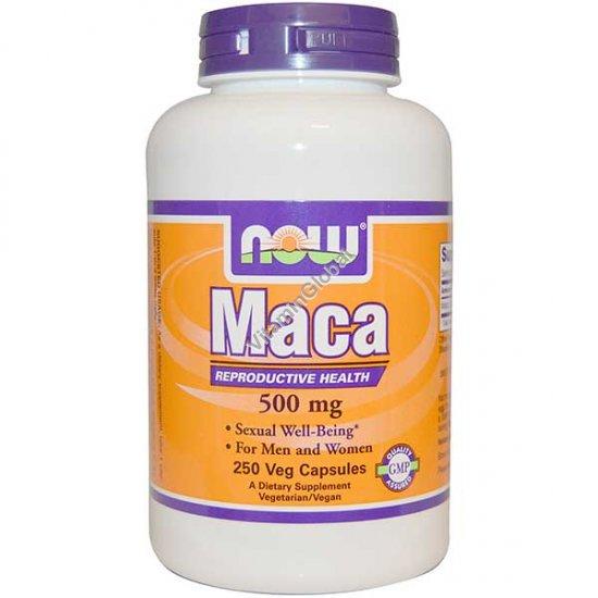 """מאקה 500 מ""""ג 250 כמוסות צמחיות - נאו פודס"""
