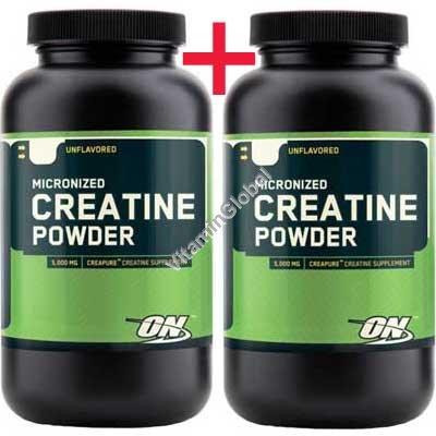 Micronized Creatine Powder 600g (300+300) - Optimum Nutrition