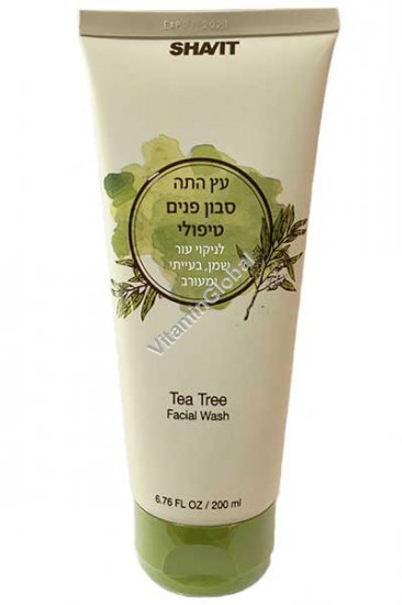 Tea Tree Skin Clearing Facial Wash 200ml (6.76 fl oz) - Shavit