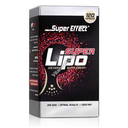 Super Lipo Kosher Fat Burner 120 capsules - Super Effect