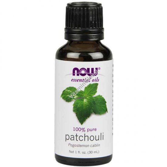 Patchouli Essential Oil 30ml (1 fl oz) - Now Essential Oils