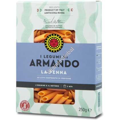 Gluten Free Red Lentil Pasta 250g - Armando