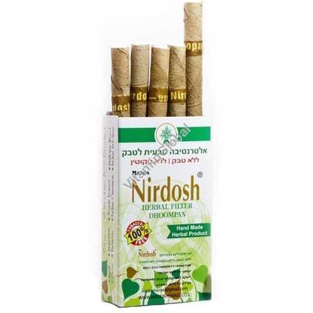 Herbal cigarettes nicotine & tobacco free 10 cigarettes - Nirdosh