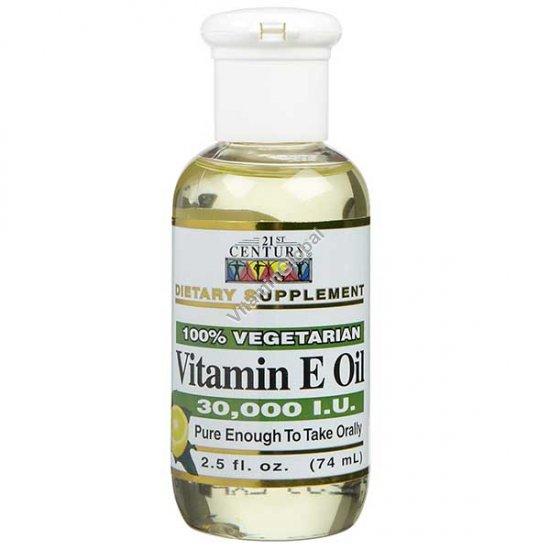 Liquid Vitamin E 74ml (2.5 fl. oz.) - 21st Century