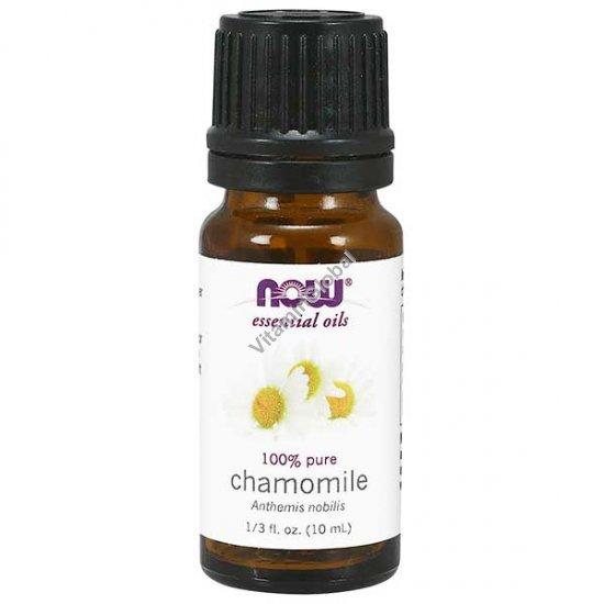 Chamomile Oil, 100% Pure 10ml - Now Essential Oils