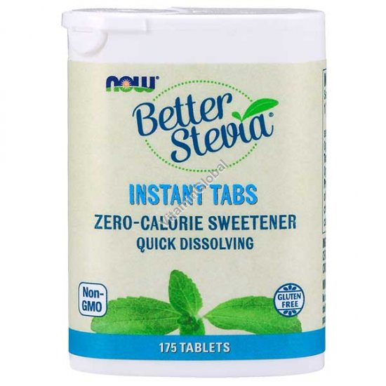 Better Stevia 175 instant tablets - Now Foods