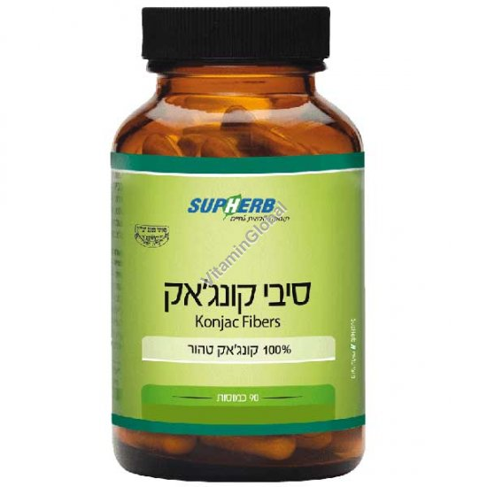 Конжак глюкоманнан для похудания 90 капсул - SupHerb