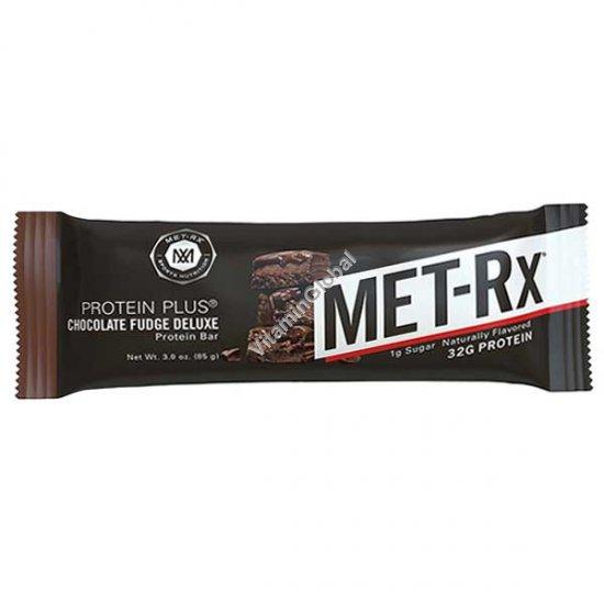 חטיף חלבון בטעם שוקולד פאדג` דלוקס 85 גרם - מטרקס