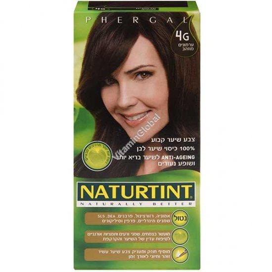 צבע לשיער גוון ערמונים מוזהב 4G - נטורטינט