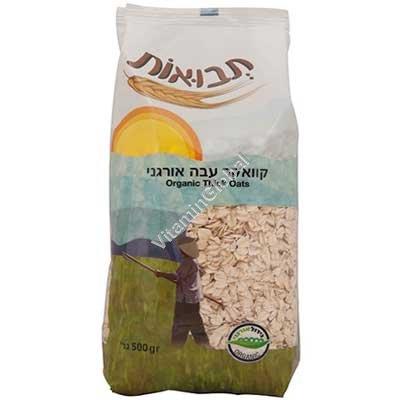 Organic Oat Flakes 500g - Tvuot