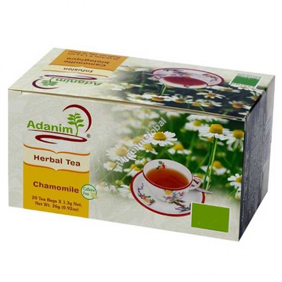 Chamomile Herbal Tea 20 tea bags - Adanim