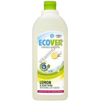 Жидкость для мытья посуды лимон и алоэ вера 1 литр - Эковер