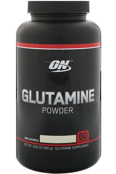 Glutamine Powder, Unflavored, 10.6 oz (300 g) - Optimum Nutrition